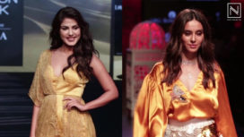 Designers and Their Showstoppers- Shibani Dandekar and Rhea Chakraborty