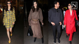 Bollywood Celebrities in their Voguish Airport Looks