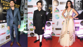 TV Stars attend the Dadasaheb Phalke Film Foundation Awards 2019