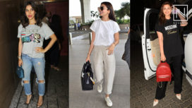 B-Town Divas Styling their Way with Relaxed Fit Tees