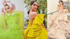 Bollywood Divas Serving Drama with Exaggerated Ruffles
