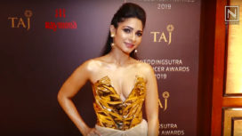 Tanishaa Mukerji Attends the Wedding Sutra Influencer Awards 2019