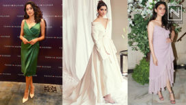 Bollywood Divas Battling Summer/Monsoon with Wrap Dresses