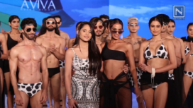 Aviva Bidapa Showcases Swimwear Collection at BTFW 19