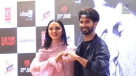 Shahid Kapoor and Kiara Advani Attend Kabir Singh Song Launch