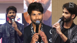 Top Five Most Voguish Looks of Shahid Kapoor from Kabir Singh Promotions