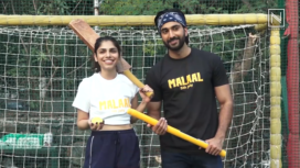 Meezaan Jaffrey and Sharmin Sehgal Attend a Cricket Match to Promote Malaal