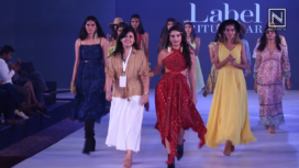 Tanya Hope Turns Muse to Ritu Kumar at Bangalore Times Fashion Week 2019
