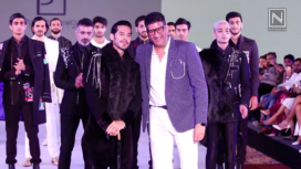 Dino Morea Walks the Ramp for Paresh Lamba at BGTFW Monsoon 2019