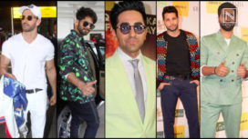 Top 5 Best Dressed Bollywood Actors of the Month