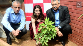 Soha Ali Khan Plants a Sapling for her Daughter Innaya on World Environmental Day
