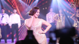 Sonakshi Sinha Bedazzles as the Showstopper at an Event