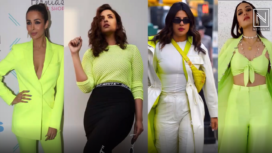 Bollywood Divas Acing the Neon Trend with Shades of Green