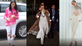 Bollywood Divas Slaying Their Outfits in White Pants