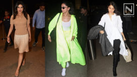 Bollywood Celebs in their Voguish Airport Looks