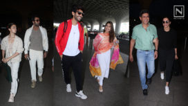 Celebs Stepping Out in their Ace Airport Outfits