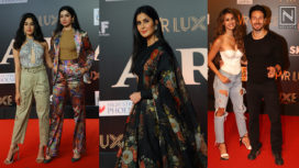 The Who's Who of Bollywood Walking the Red Carpet at the Premiere of Bharat