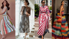 Celeb Approved Ways to Ace the Clashing Stripes this Season