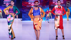 Students of JD Institute Showcase at Bangalore Times Fashion Week 2019