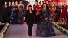 Neeta Lulla Showcases at Bangalore Times Fashion Week 2019