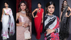 Top Five Most Sultry Looks of Shilpa Shetty in a Sari
