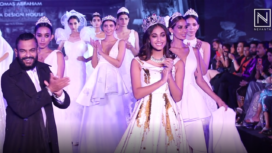 Thomas Abraham Showcases his Bridal Collection at BGTFW 2019