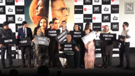 Bollywood Celebs at the Mission Mangal Trailer Launch