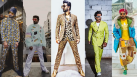 Ranveer Singh's Experimental Fashion Lookbook