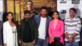 The Star Cast of Batla House at its Trailer Launch