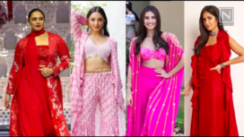 Bollywood Divas in Vibrant Indo-Western Co-ords