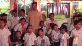 Nandish Singh Attends the Screening of Super 30 with Underprivileged Kids