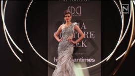 Diana Penty Stuns as Showstopper for Gaurav Gupta at India Couture Week 2019