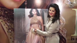 Sunny Leone at the Launch of her own Lingerie Brand Infamous