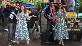 Sidharth Malhotra and Parineeti Chopra Attend the Trailer Launch of Jabariya Jodi