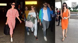 A-Listers of Bollywood Make Fashionable Appearances at the Airport