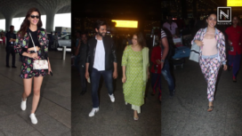 Bollywood Celebrities Spotted in their Best Airport Looks