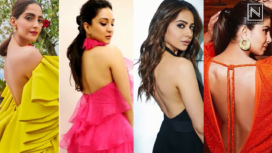 Bollywood Celebs Turn Up the Heat in Backless Outfits