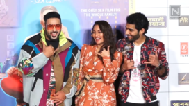 Sonakshi Sinha and Badshah Attend the Trailer Launch of Khaandani Shafakhana