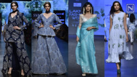 The Shades of Blue Ruling the Runways of LFW SR19 and LMIFW AW19