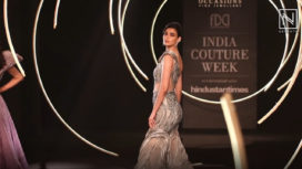 Diana Penty Walks the Ramp for Gaurav Gupta at India Couture Week 2019