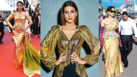 Celeb-Approved Gold Toned Outfits to Glam up Your Look