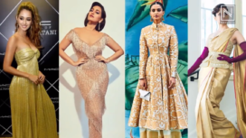 Bollywood Divas Go Glamorous with Shades of Gold