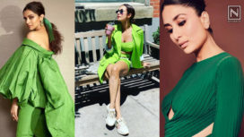 Bollywood Divas Making Thumping Style Statements in the Season's Fave Colour - Green