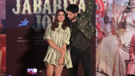 Jabariya Jodi Song Launch with Sidharth Malhotra and Parineeti Chopra