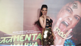 Kangana Ranaut and Others at the Trailer launch of Judgemental Hai Kya