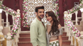 Karan Kundra and Anusha Dandekar Shoot for a Romantic Music Video