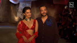 Kiara Advani Turns Perfect Muse to Amit Aggarwal at India Couture Week 2019