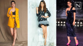 Top 5 Noteworthy Looks of Kriti Sanon at Arjun Patiala Promotions