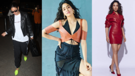 Bollywood Celebs Working Chic Looks in Leather