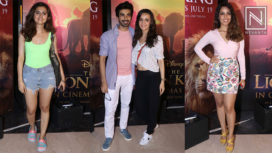 TV Celebs at the Special Screening of The Lion King